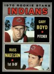 1970 Topps #7   -  Gary Boyd / Russ Nagelson Indians Rookies Front Thumbnail