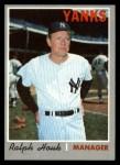 1970 Topps #273  Ralph Houk  Front Thumbnail