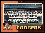 1975 Topps #361   -  Walter Alston Dodgers Team Checklist Front Thumbnail