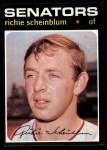 1971 Topps #326  Richie Scheinblum  Front Thumbnail