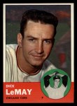 1963 Topps #459  Dick LeMay  Front Thumbnail