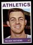 1964 Topps #366  Nelson Mathews  Front Thumbnail