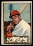 1952 Topps #47 BLK Willie Jones  Front Thumbnail