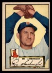 1952 Topps #43 BLK Ray Scarborough  Front Thumbnail