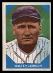1960 Fleer #6  Walter Johnson  Front Thumbnail