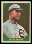 1960 Fleer #50  Frank Chance  Front Thumbnail
