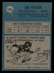 1964 Philadelphia #122  Jim Patton  Back Thumbnail