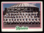 1978 Topps #499   Mariners Team Checklist Front Thumbnail