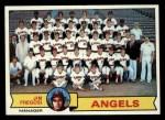 1979 Topps #424   -  Jim Fregosi  Angels Team Checklist Front Thumbnail