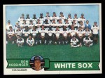 1979 Topps #404   -  Don Kessinger White Sox Team Checklist Front Thumbnail