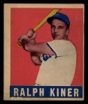 1948 Leaf #91  Ralph Kiner  Front Thumbnail