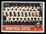 1976 Topps #216   -  Karl Kuehl Expos Team Checklist Front Thumbnail