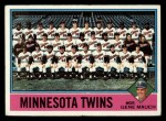 1976 Topps #556   -  Gene Mauch Twins Team Checklist Front Thumbnail