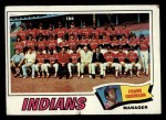 1977 Topps #18   -  Frank Robinson Indians Team Checklist Front Thumbnail
