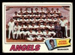 1977 Topps #34   -  Norm Sherry Angels Team Checklist Front Thumbnail