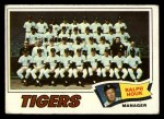 1977 Topps #621   -  Ralph Houk Tigers Team Checklist Front Thumbnail