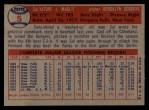 1957 Topps #5  Sal Maglie  Back Thumbnail