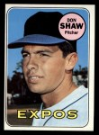 1969 Topps #183 COR Don Shaw  Front Thumbnail