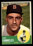 1963 Topps #28 *YEL* Mike Fornieles  Front Thumbnail