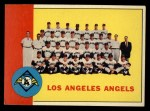 1963 Topps #39 ERR  Angels Team Front Thumbnail