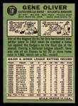 1967 Topps #18  Gene Oliver  Back Thumbnail