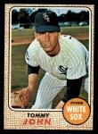 1968 Topps #72  Tommy John  Front Thumbnail