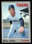 1970 Topps #12  John Hiller  Front Thumbnail
