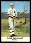 1961 Golden Press #21  Home Run Baker  Front Thumbnail