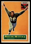 1956 Topps #88  Norm Willey  Front Thumbnail