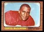 1966 Topps #72  Curtis McClinton  Front Thumbnail