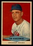 1954 Red Heart  Ted Kluszewski    Front Thumbnail