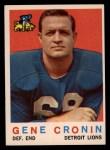 1959 Topps #66  Gene Cronin  Front Thumbnail