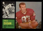 1962 Topps #170  Fred Dugan  Front Thumbnail