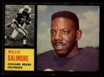 1962 Topps #14  Willie Galimore  Front Thumbnail