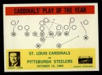 1964 Philadelphia #182   -  Wally Lemm  St. Louis Cardinals Front Thumbnail