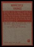 1965 Philadelphia #99   Vikings Team Back Thumbnail