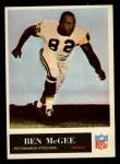 1965 Philadelphia #150  Ben McGee  Front Thumbnail