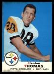 1969 Topps #42  Clendon Thomas  Front Thumbnail
