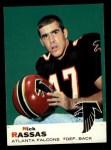 1969 Topps #71  Nick Rassas  Front Thumbnail