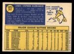 1970 Topps #247  Lou Klimchock  Back Thumbnail