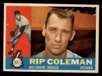 1960 Topps #179  Rip Coleman  Front Thumbnail
