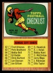 1966 Topps #132   Checklist Front Thumbnail