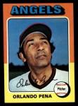 1975 Topps #573  Orlando Pena  Front Thumbnail