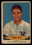 1954 Red Heart #32  Eddie Yost    Front Thumbnail