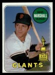 1969 Topps #464 WN Dave Marshall  Front Thumbnail
