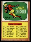 1966 Topps #132   Checklist #2 Front Thumbnail