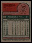 1975 Topps #570  Jim Wynn  Back Thumbnail