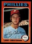 1975 Topps #551  Larry Christenson  Front Thumbnail