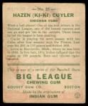 1933 Goudey #23  Kiki Cuyler  Back Thumbnail
