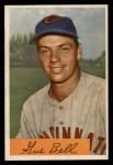1954 Bowman #124 ERR Gus Bell  Front Thumbnail